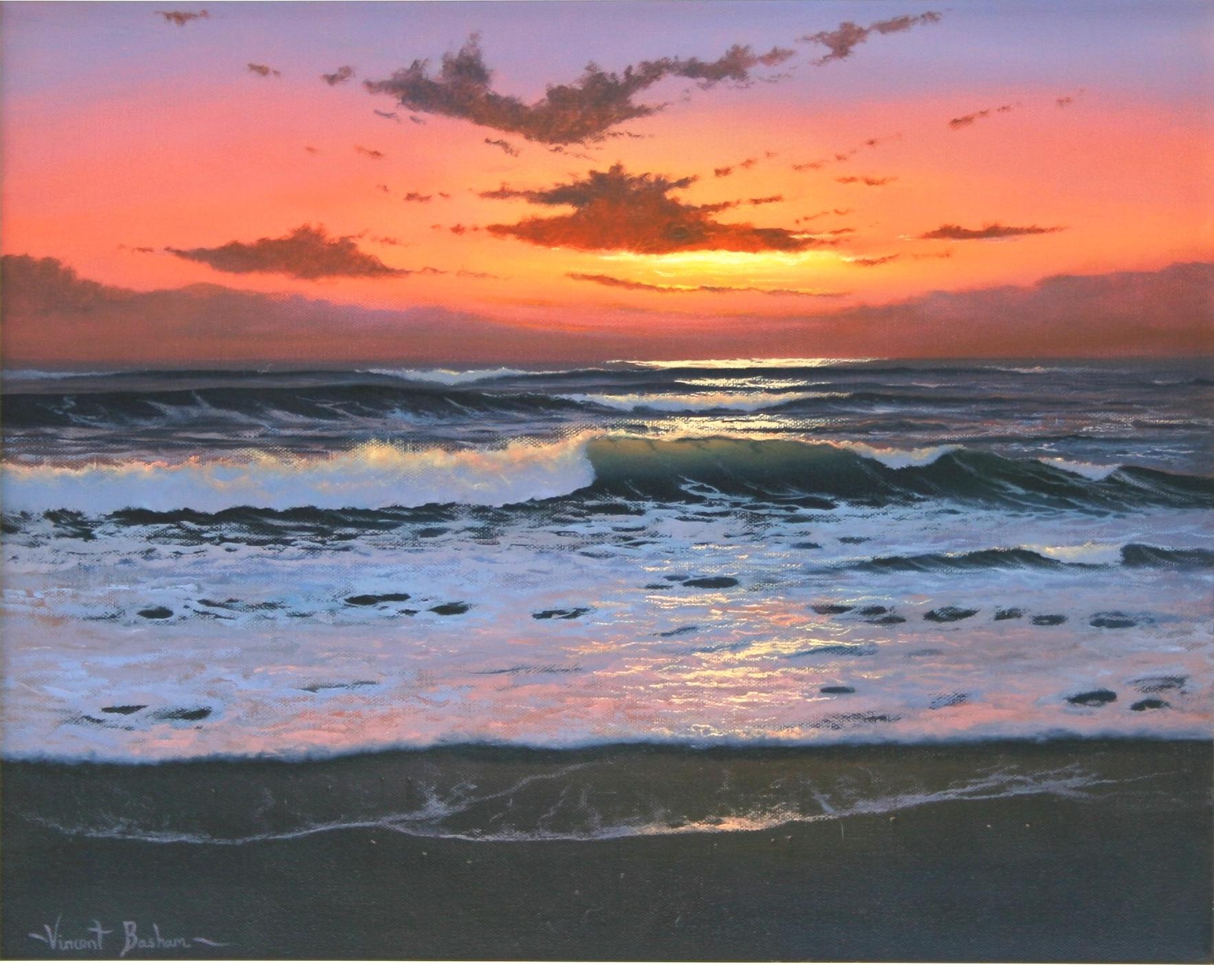 Evening Glow 410 x 510