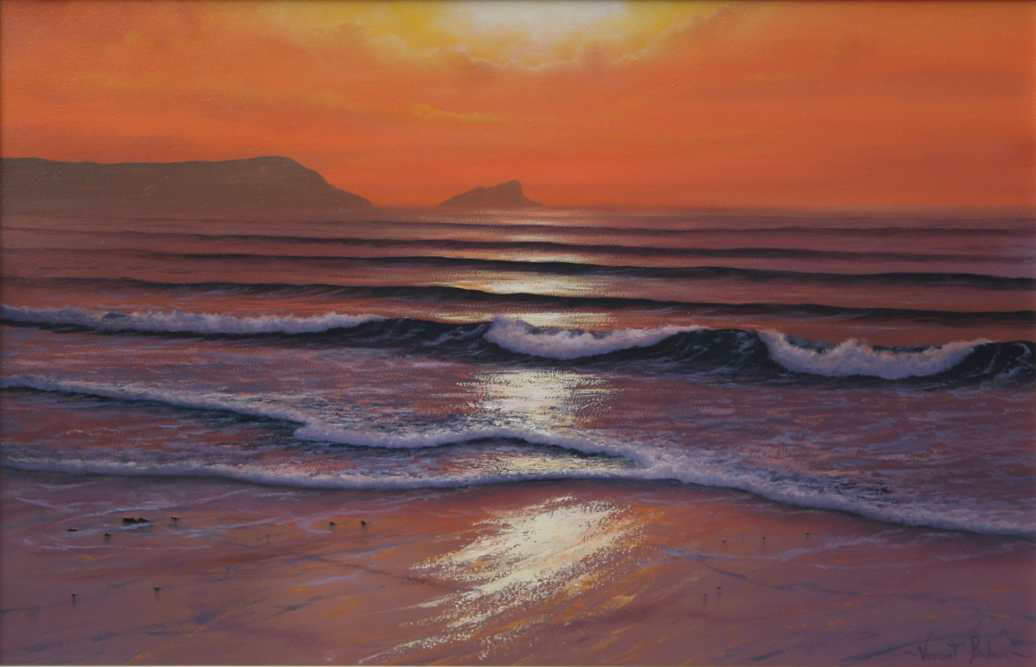 Fistral Sunset 410 x 610