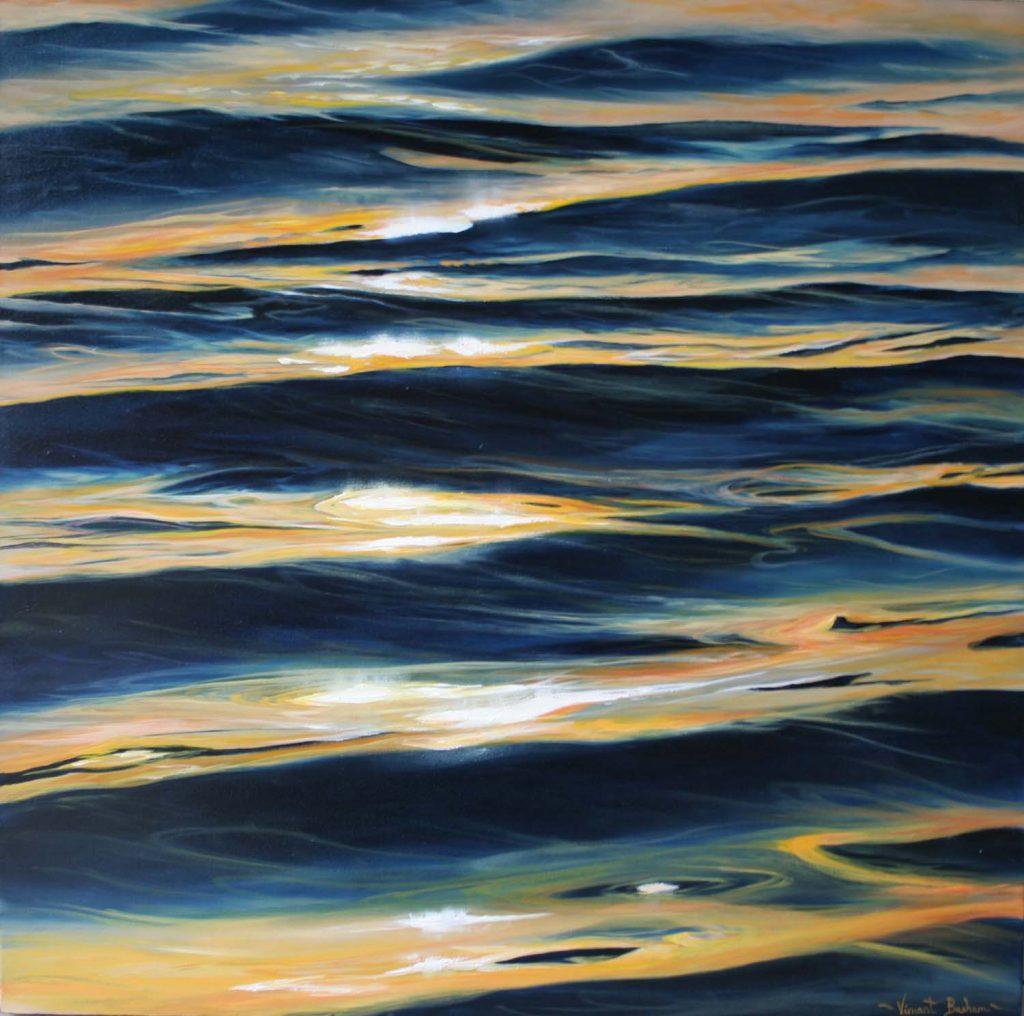 Ripples 610 x 610 Cornish Seascape