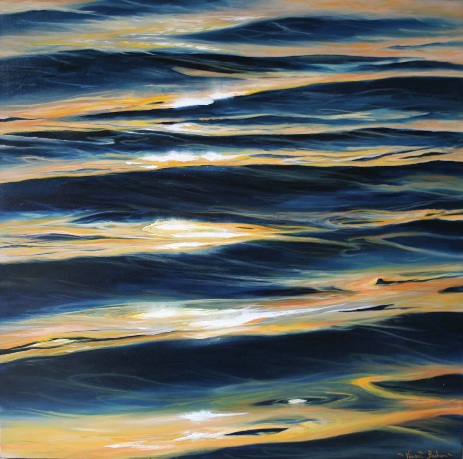 Ripples 610 x 610 Cornish Seascape