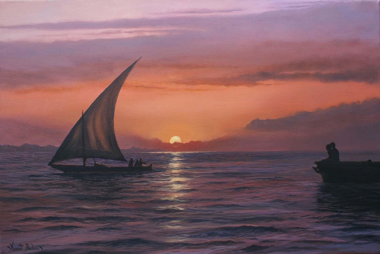 Sailing Home 350 x 500