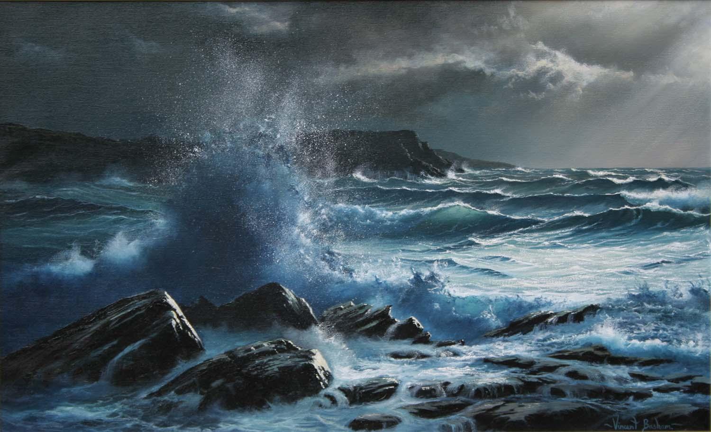 Stormy Sea 460 x 730