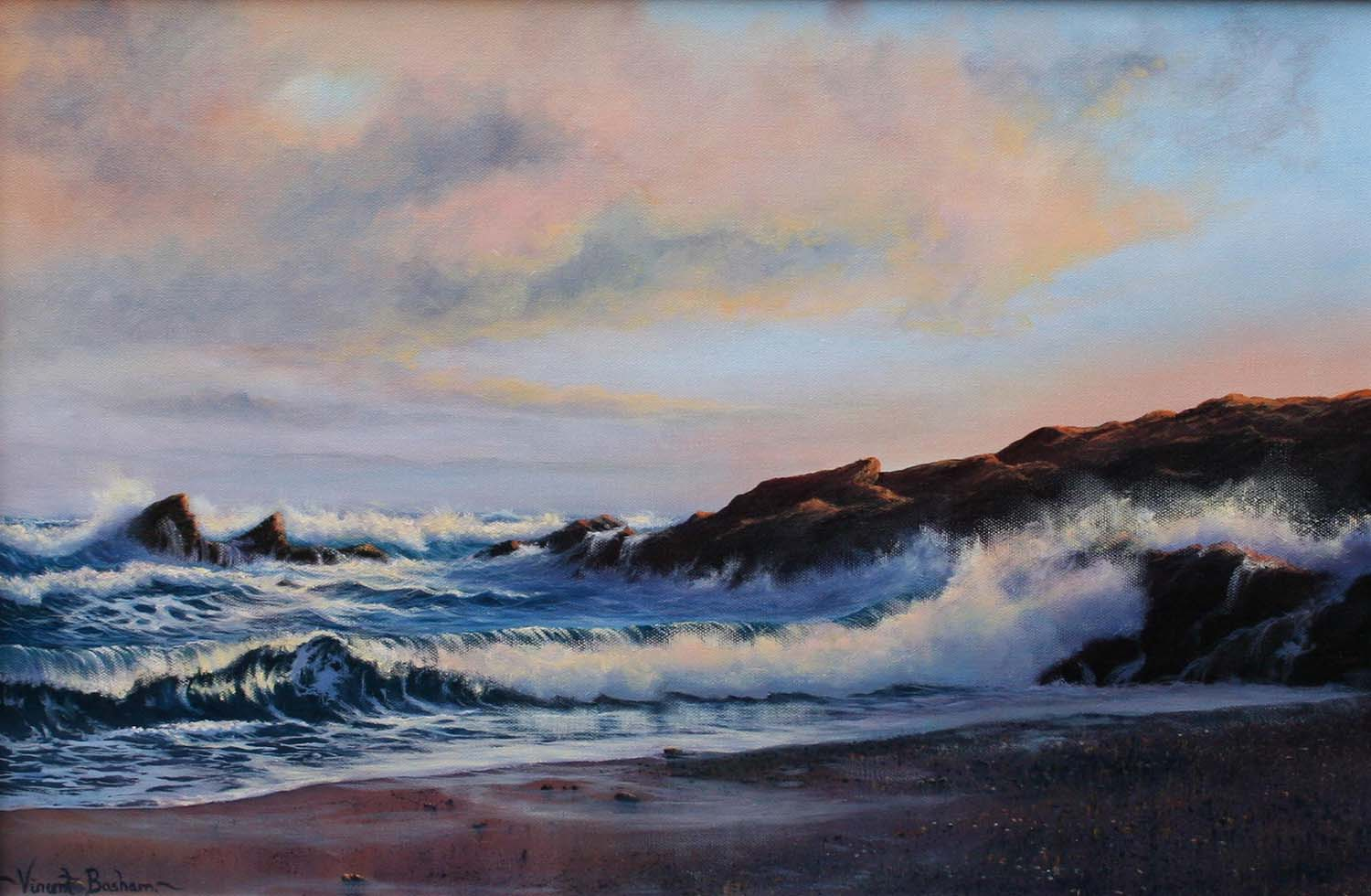 Sunrise at Little Fistral 400 x 600