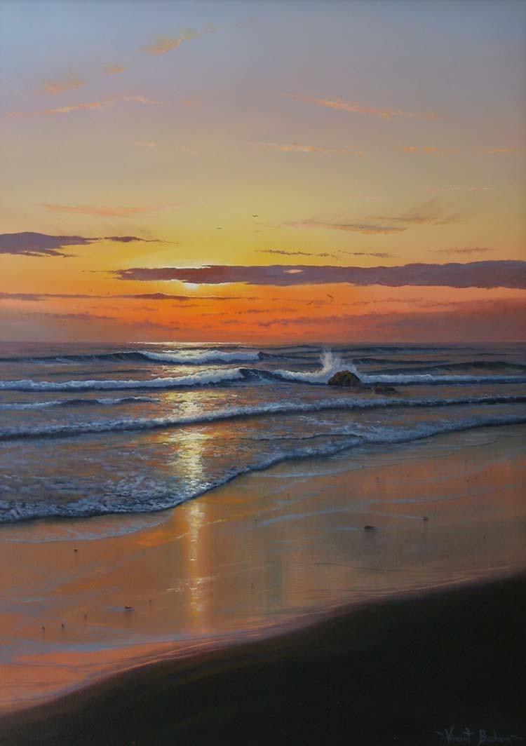 Sunset Shore 700 x 500