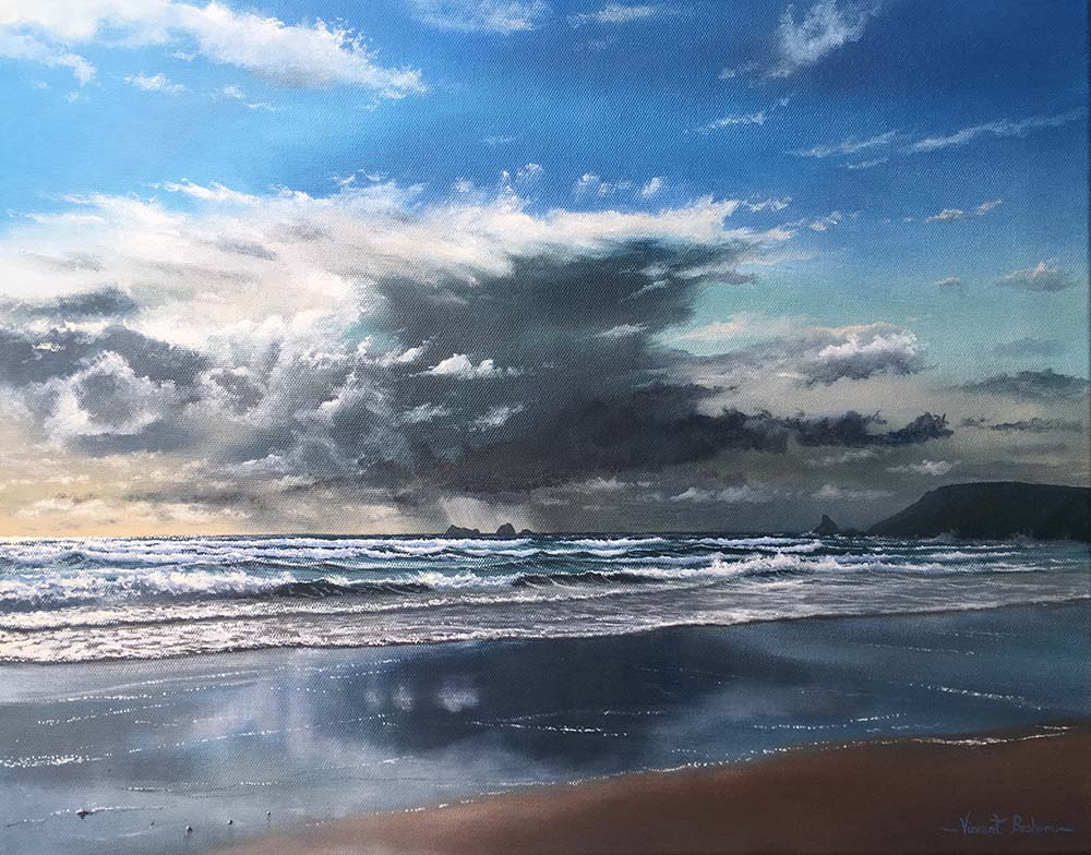 Storm Clouds Over Boobys Bay 410 x 510